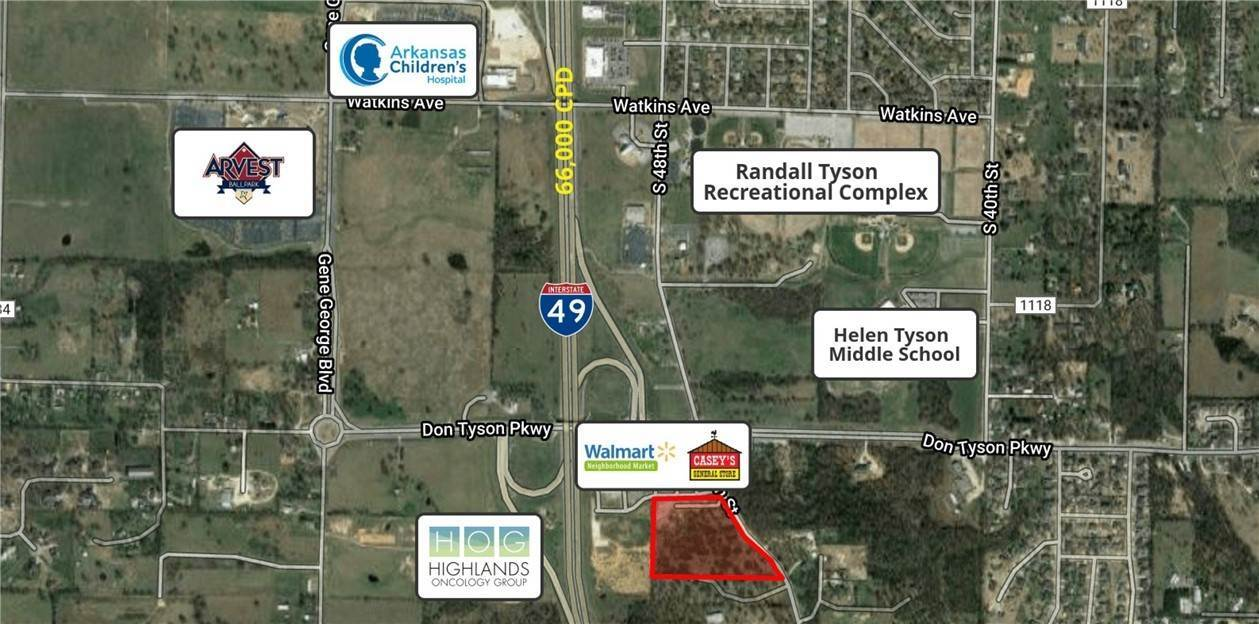 Land for Sale at 3744 S 48th Street 3744 S 48th Street Springdale, Arkansas 72762 United States