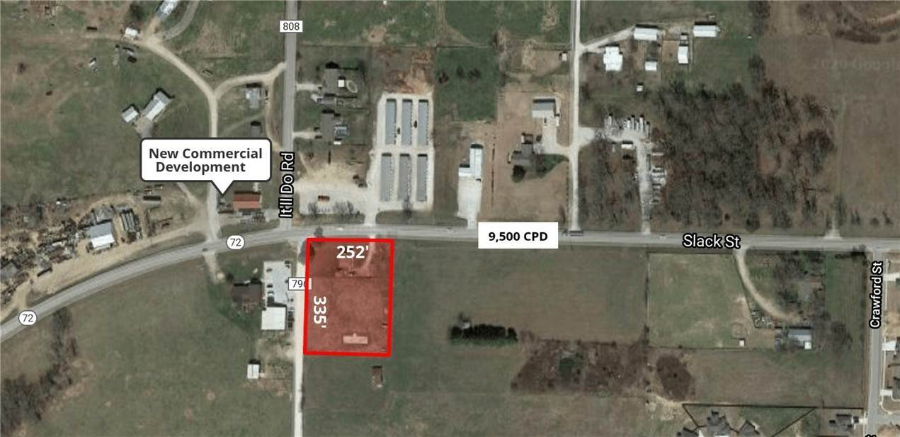 Land for Sale at 2103 Slack Street 2103 Slack Street Pea Ridge, Arkansas 72751 United States